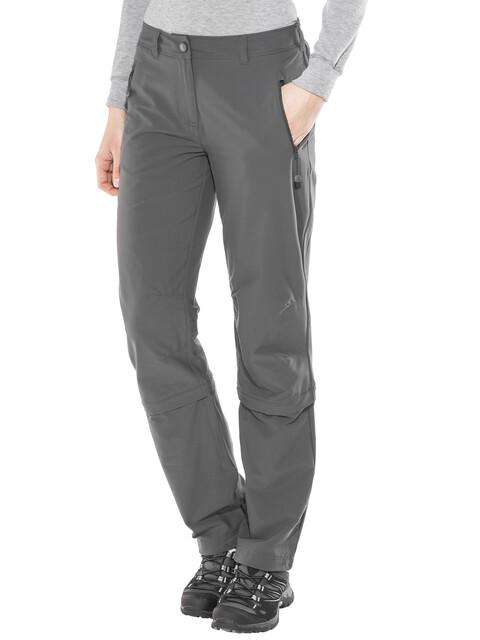 Schöffel Engadin Naiset Pitkät housut Regular , harmaa